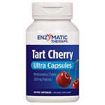 Enzymatic Therapy Tart Cherry Ultra, Vegetarian Capsules