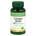 Nature's Bounty Ginger Root, 550mg, Capsules- 100 ea