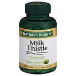Nature's Bounty Milk Thistle, 250mg, Capsules