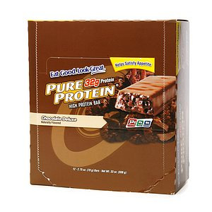 Pure Protein High Protein Meal Bar, 12 Pack, Chocolate Deluxe, 12 ea