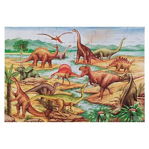 Melissa and Doug Dinosaurs Floor (48 pc) Ages 3+