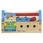 Melissa and Doug Take-Along Tool Kit Ages 3+- 1 ea