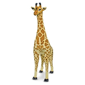 Melissa and Doug Giraffe - Plush, Ages 3+- 1 ea