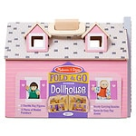 Melissa and Doug Fold & Go Dollhouse, Ages 3+