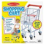 Melissa and Doug Shopping Cart, Ages 3+- 1 ea