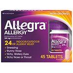 Allegra 24 Hour Allergy, 180mg Tablets