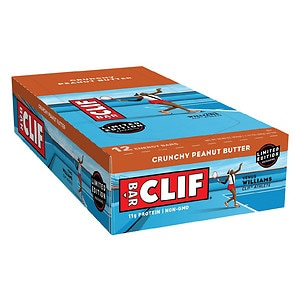 Clif Bar Energy Bars, Crunchy Peanut Butter, 12 pk- 2.4 oz