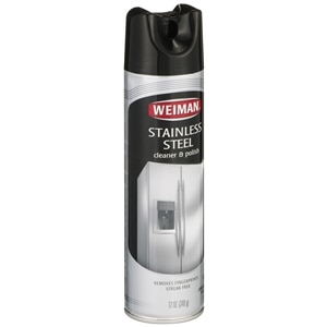 Weiman Stainless Steel Cleaner & Polish- 12 oz