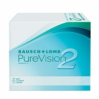 PureVision2 Contact Lens- 6 lenses per Box