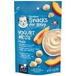 Gerber Graduates Yogurt Melts, Peach- 1 oz