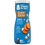 Gerber Graduates Puffs Cereal Snack, Sweet Potato