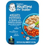 Gerber Graduates for Toddlers Lil' Entrees, Mashed Potatoes & Gravy with Roasted Chicken- 5.3 oz
