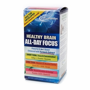 Applied Nutrition Healthy Brain All-Day Focus, Tablets