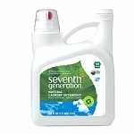 Seventh Generation Natural 2X Concentrated Liquid Laundry Detergent, 99 Loads, Free & Clear