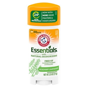 Arm & Hammer Essentials Deodorant with Natural Deodorizers, Fresh- 2.5 oz