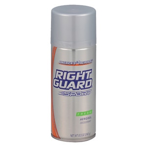 Right Guard Sport Deodorant Aerosol, Fresh