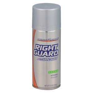 Right Guard Sport Aerosol Deodorant Spray, Fresh- 8.5 oz