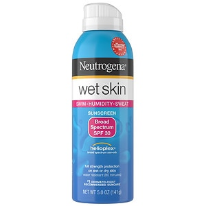 Neutrogena Wet Skin Sunscreen Spray, SPF 30- 5 oz