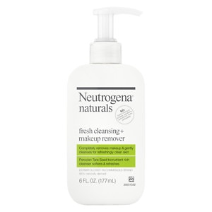 Neutrogena Naturals Fresh Cleansing + Makeup Remover- 6 fl oz