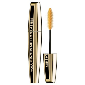 L'Oreal Voluminous Million Lashes Mascara, Blackest Black&nbsp;