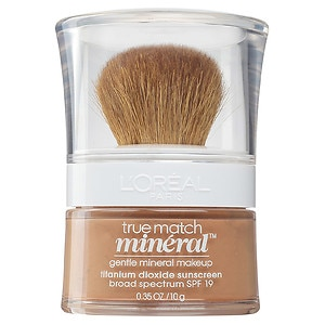L'Oreal Paris True Match Gentle Mineral Makeup, SPF 19, Soft Sable