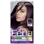 L'Oreal Paris Feria Midnight Collection Haircolor, Violet Soft Black- 1 ea