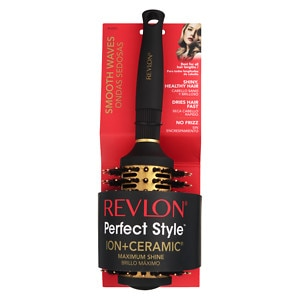 Revlon Perfect Style Ion + Ceramic Brush, Medium Porcupine Round