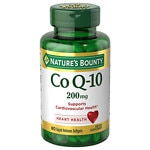 Nature's Bounty Q-Sorb CoQ10, 200mg, Softgels- 75 ea