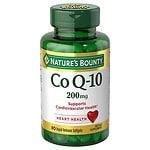 Nature's Bounty Q-Sorb CoQ10, 200mg, Softgels- 75 ea