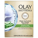 Olay 4-in-1 Daily Face Wipes, Sensitive- 33 ea