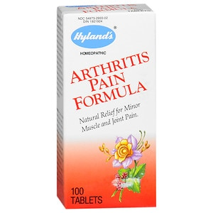 Hyland's Arthritis Pain Formula Natural Relief Tablets- 100 ea