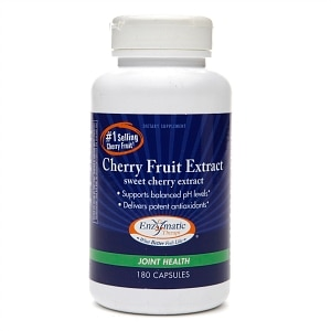 Enzymatic Therapy Cherry Fruit Extract, Capsules- 180 ea