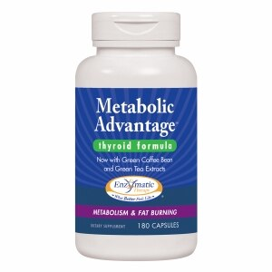 Enzymatic Therapy Metabolic Advantage, Capsules- 180 ea