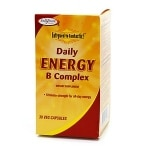 Enzymatic Therapy Fatigued to Fantastic! Daily Energy B Complex, Vegetarian Capsules- 30 ea