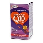 Enzymatic Therapy Smart Q10 CoQ10, 100mg, Chewable Tablets,