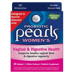 Enzymatic Therapy Pearls YB Yeast-Balancing Probiotics, Capsules- 30 ea