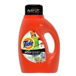 Tide Liquid Detergent plus Febreze Freshness, High Efficiency, 30 Loads, Active Fresh Scent