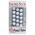 SnoreStop Homeopathic Anti-Snoring FastTabs- 60 ea