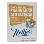Nellie's All Natural Dryerball Fragrance Sticks, Citrus