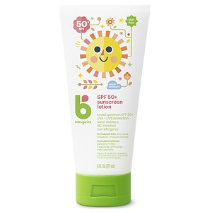 Babyganics Mineral-Based Sunscreen, SPF 50+, Fragrance Free, 6 oz
