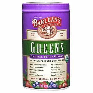 Barlean's Organic Oils Greens, Berry