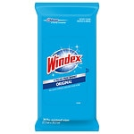 Windex Original Clean & Dust Wipes Flat Pack