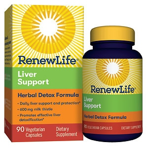 ReNew Life Critical Liver Support, Vegetable Capsules- 90 ea