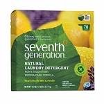 Seventh Generation Natural Laundry Detergent Powder, 70 Loads, Real Citrus & Wild Lavender- 112 oz