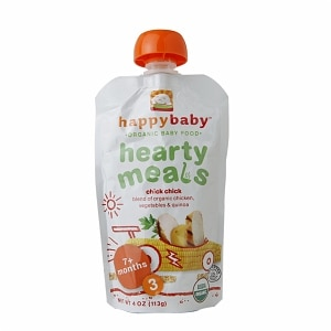 Happy Baby Organic Baby Food:  Stage 3 / Meals, 7+ months, Chick Chick