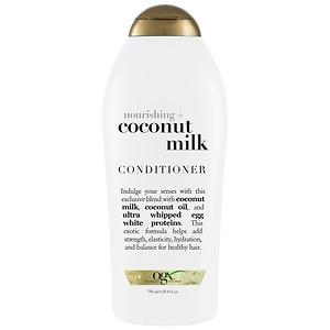 OGX Nourishing Coconut Milk Conditioner, 25.4 fl oz