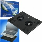 Laptop Buddy Notebook USB Cooling Pad w/ 2 Fans