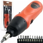 ADG Cordless Screwdriver with 11 bits- 1 ea