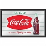 Trademark Global Coca-Cola Vintage Mirror Horizontal Refreshing
