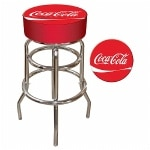 Trademark Global Coca Cola Pub Stool- 1 ea
